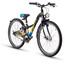 s'cool XXlite 24 7-S - Vélo enfant - steel noir